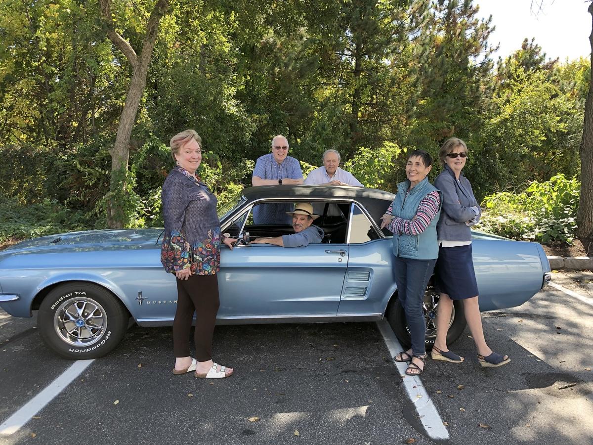 OLLI Members-Mustang